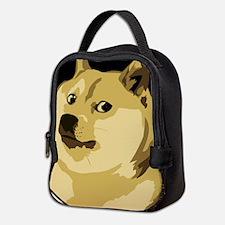 Cute Dog Neoprene Lunch Bag