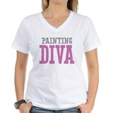 Art teachers Womens V-Neck T-shirts