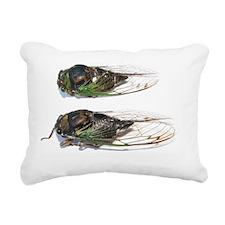 Cute Cicadas Rectangular Canvas Pillow