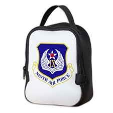 Ninth Air Force Neoprene Lunch Bag
