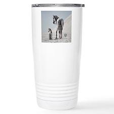 Stallion Standing w Min Travel Mug
