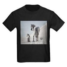 Andalusian Stallion with mini T-Shirt