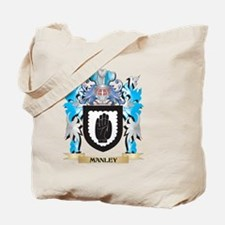 Manley Coat of Arms - Family Crest Tote Bag