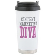 Content Marketing DIVA Travel Mug