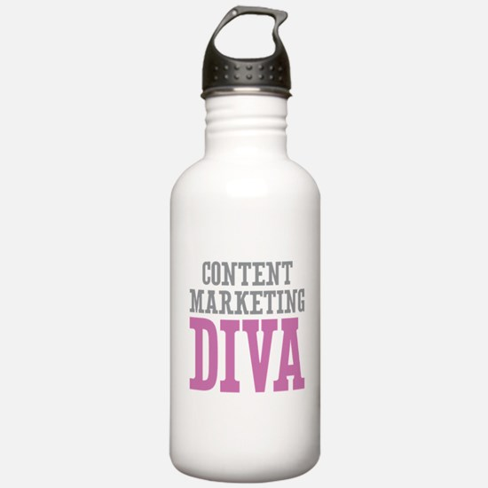 Content Marketing DIVA Water Bottle
