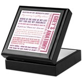 Greysanatomytv Keepsake Boxes