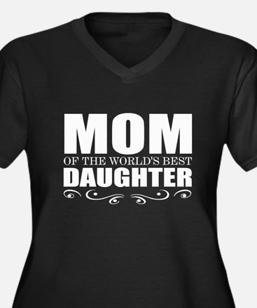 cute mom daughter Plus Size T-Shirt