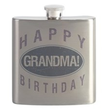 Happy Birthday Grandma! Flask