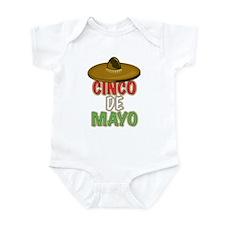 Mexico Cinco De Mayo Infant Bodysuit