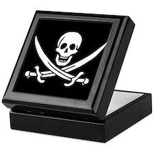 Pirate Flag of Calico Jack Keepsake Box