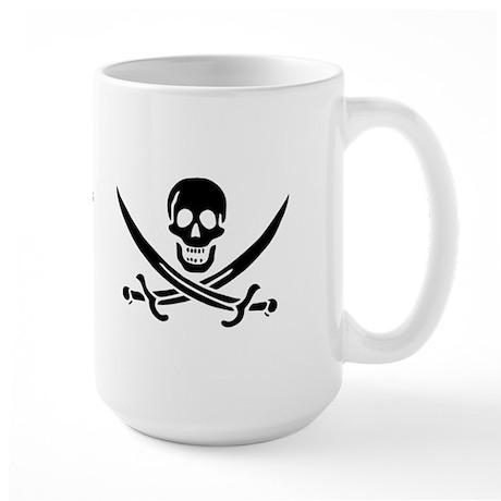 Pirate Flag of Calico Jack Large Mug