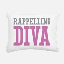 Rappelling DIVA Rectangular Canvas Pillow