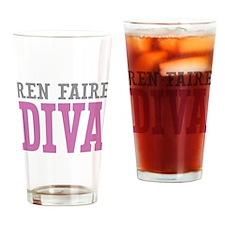 Ren Faire DIVA Drinking Glass
