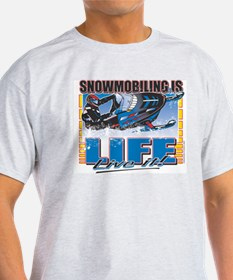 SNOWMOBILING-IS-LIFE-.png T-Shirt