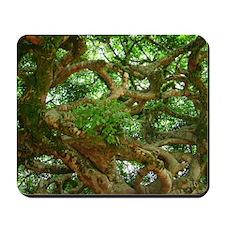 Tree Maze Mousepad
