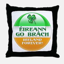 EGB flag round Throw Pillow