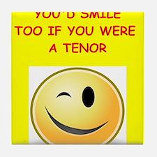 tenor Tile Coaster