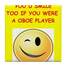 oboe Tile Coaster