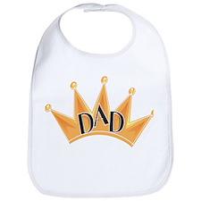 King Dad Bib