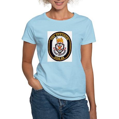 USS STETHEM Women's Light T-Shirt
