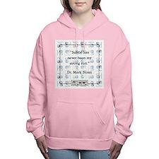 SUBTLE HAS NEVER Women's Hooded Sweatshirt