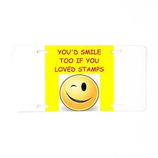 stamp Aluminum License Plate
