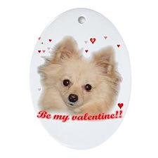 Valentine Oval Ornament
