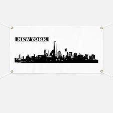 Lower Manhattan, New York Skyline Banner