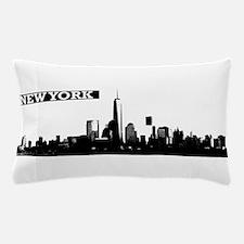 Lower Manhattan, New York Skyline Pillow Case