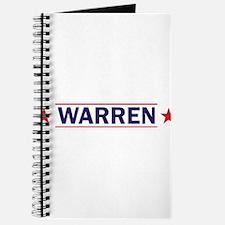 Elizabeth Warren for President Journal