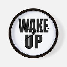 WAKE UP Message Wall Clock