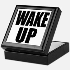 WAKE UP Message Keepsake Box