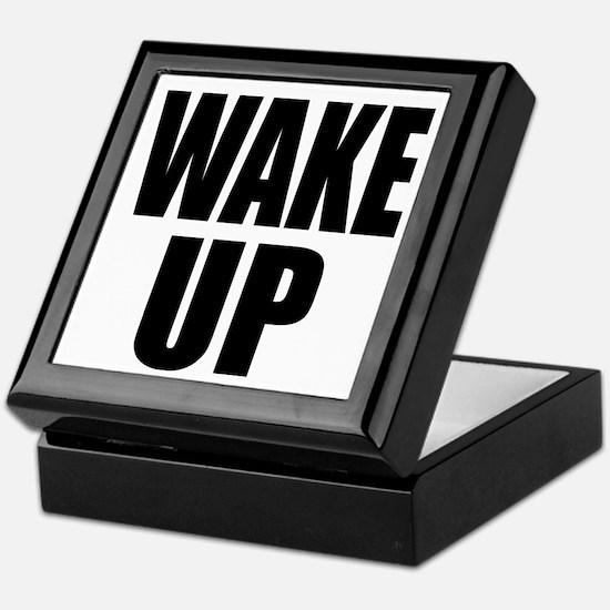 WAKE UP Message Keepsake Box