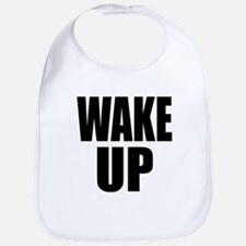 WAKE UP Message Bib
