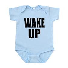 WAKE UP Message Infant Bodysuit