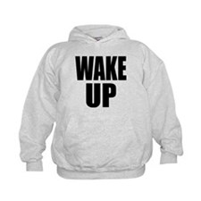 WAKE UP Message Hoodie