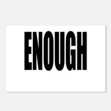 ENOUGH Postcards (Package of 8)