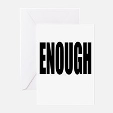 ENOUGH Greeting Cards (Pk of 10)