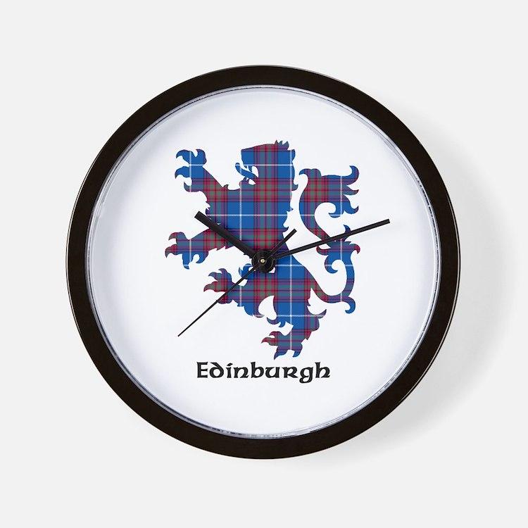 Lion - Edinburgh dist. Wall Clock