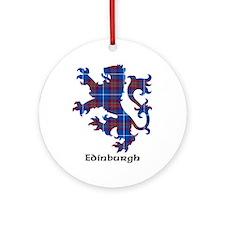 Lion - Edinburgh dist. Ornament (Round)
