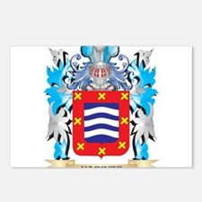 Mariner Coat of Arms - Fa Postcards (Package of 8)