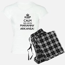 Keep calm we live in Marian Pajamas