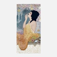 Art Deco Vanity Lady Beach Towel