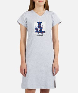 Thistle - Edinburgh dist. Women's Nightshirt