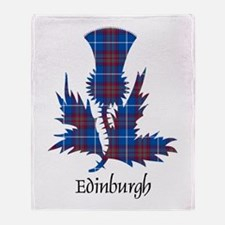 Thistle - Edinburgh dist. Throw Blanket