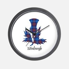 Thistle - Edinburgh dist. Wall Clock