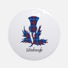 Thistle - Edinburgh dist. Ornament (Round)