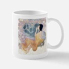 Art Deco Vanity Lady Mugs