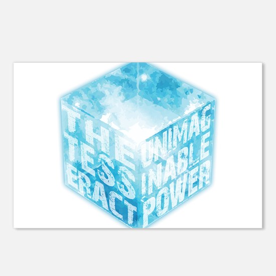 Tesseract Postcards (Package of 8)