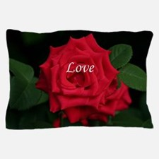 Love Romantic Red Rose for Valentine,  Pillow Case